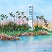 Long Beach Oil Island Art Print