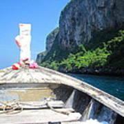 Long Boat Tour - Phi Phi Island - 0113157 Art Print