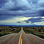 Long Highway Art Print