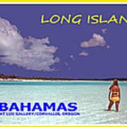 Long Island Bahamas IIi Art Print