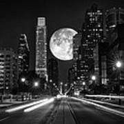 Long Nights Moon Art Print