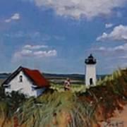 Long Point Lighthouse Art Print