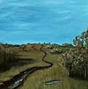 Long Trail Art Print
