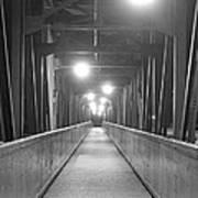 Long Walking Bridge Art Print