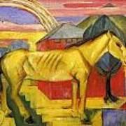 Long Yellow Horse 1913 Art Print