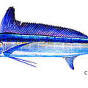 Longbill Spearfish Art Print