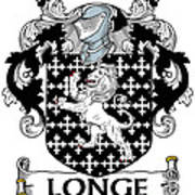Longe Coat Of Arms Irish Art Print