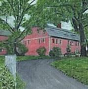 Longfellow's Wayside Inn Art Print