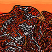 Longs Peak - Colorado Art Print