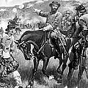 Longstreet At Gettysburg Art Print
