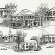 Longwood College Art Print