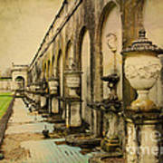 Longwood Gardens Fountains Art Print