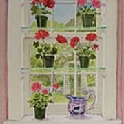 Look Through My Window Again Art Print