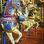 Dancing Horses Art Print
