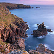 Looking Towards Lands End From The Art Print