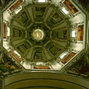 Looking Up Salzburg Cathedral 2 Art Print