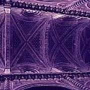 Looking Up Siena Cathedral Art Print