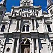 Looking Up St Louis Cathedral Art Print
