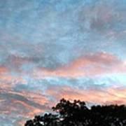 Looks Like And Oil Painted Sky Art Print