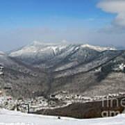 Loon Mountain Ski Resort White Mountains Lincoln Nh Art Print
