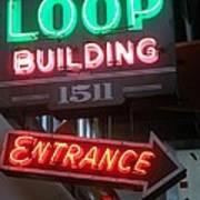 Loop Building 1511 Art Print
