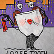 Loose Tooth Art Print