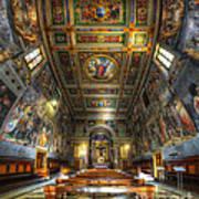 L'oratorio Del Santissimo Crosifisso Art Print