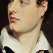Lord Byron Art Print by William Essex