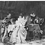 Lord Darnley/mary Stuart Art Print