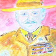 Lord Robert Baden Powell And Scouting 2 Art Print