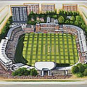 Lords Cricket Ground Art Print