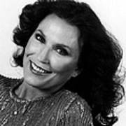 Loretta Lynn Close Up Art Print by Retro Images Archive