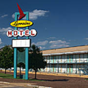 Lorraine Motel Sign Art Print by Joshua House