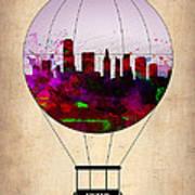 Miami Air Balloon 1 Art Print
