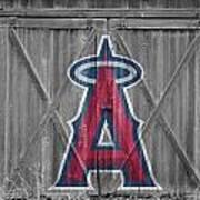 Los Angeles Angels Art Print by Joe Hamilton