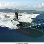 Los Angeles Class Submarine Art Print