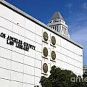 Los Angeles County Law Library Art Print