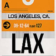 Los Angeles Luggage Poster 2 Art Print