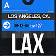 Los Angeles Luggage Poster 3 Art Print