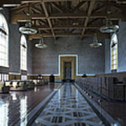 Los Angeles Union Station Original Ticket Lobby Art Print
