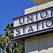Los Angeles Union Station Art Print