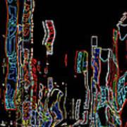 Losing Equilibrium - Abstract Art Art Print