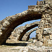 Lost City Of Salamis Cyprus  Art Print