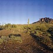 Lost Dutchman Park Supestition Mountains Art Print