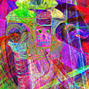 Lost In Abstract Space 20130611 Long Version Art Print