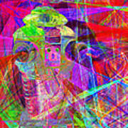 Lost In Abstract Space 20130611 Art Print