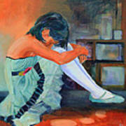 Lost In Thought Art Print by Sue  Darius
