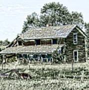 Lost In Wyoming Art Print