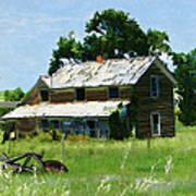 Lost In Wyoming II Art Print