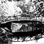 Lost Lagoon Bridge  Art Print